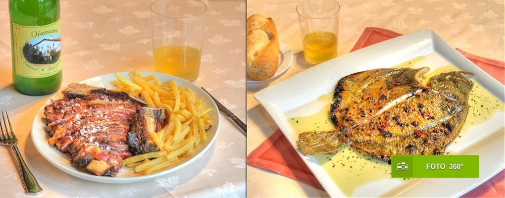 Cerca de Donostia-San Sebastián, cocina tradicional, ambiente a tu gusto